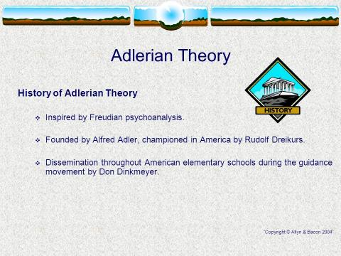 STRENGTHS AND WEAKNESSES OF ADLERIAN THEORY