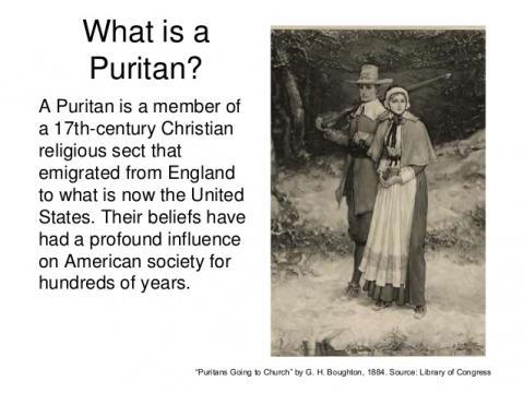 puritan influence on american culture