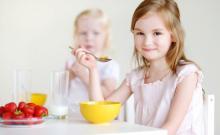 ESSAY ON CHILDREN AND BREAKFAST