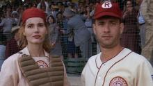 "A LEAGUE OF THEIR OWN"" MOVIE REVIEW"