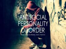 PSYCHOPATHY & ANTI-SOCIAL PERSONALITY DISORDER